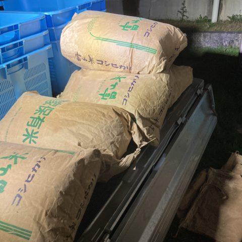 米ぬか回収